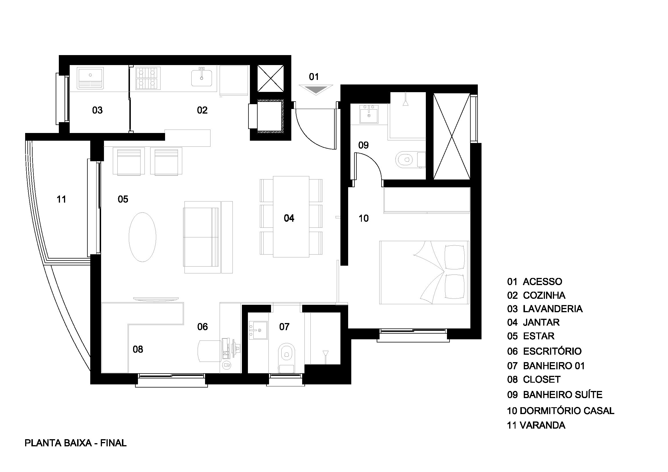 Apartamento Kirsten Nae N Cleo De Arquitetura Experimental