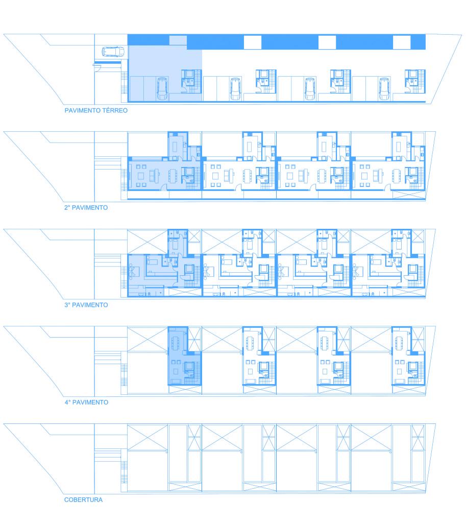 Condomínio Residencial Residências da Figueira | naE | Plantas Baixas Gerais
